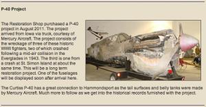 P-40 Restoration
