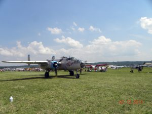 B-25 Mitchell on taxiway
