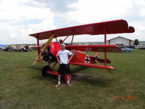 FlyBoyz Corey O'Neill ready to challenge the Red Baron!