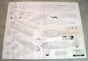 Full size plan sheet and building instructions.