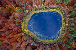 A Lake in Pomerania Poland
