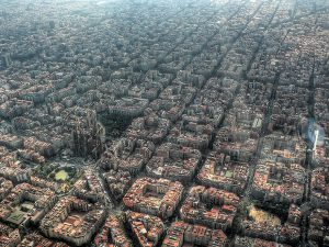 Barcelona is the 2nd largest city in Spain and is known for its striking architecture.