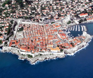 Dubrovnik is a Croatian city on the Adriatic Sea and one of the most prominent tourist destinations in the Mediterranean.