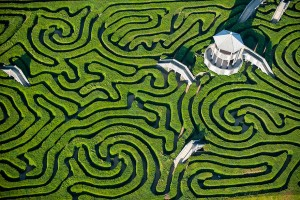 Maze at Longleat England