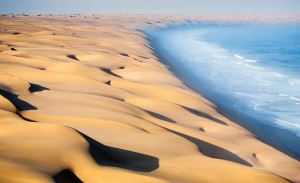 This coastal desert in southern Africa stretches for over 2,000 kilometers (1,200 miles).