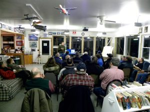 Presenting my experiences with Marine One to the members of EAA Chapter 486
