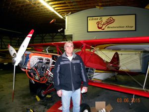 EAA (and STARS) member Dan 'Danno' Williams talked with me about current maintenance and enhancement work he is doing on his Acro Sport II