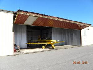 RV-9A N247SD ready for rollout and flight.