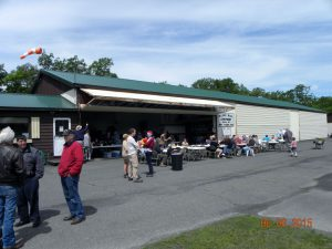 A great pancake, eggs, and sausage breakfast was served up by the local EAA Chapter.