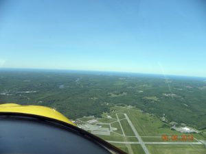 Oswego County Airport...our final destination and home base.