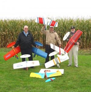 Group at Hobby Hideaway, 2009 L to R: Pat King, Jim Swearingen, John Cralley