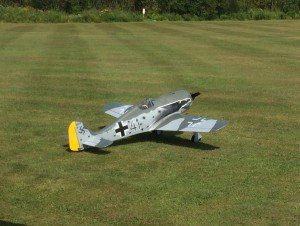 There were German WWII planes