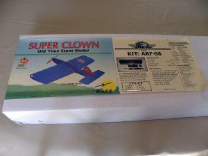 Box for Brodak Super Clown ARF kit