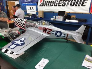 Another beautiful model on display from one of the members of the Oswego Valley Modelaires.