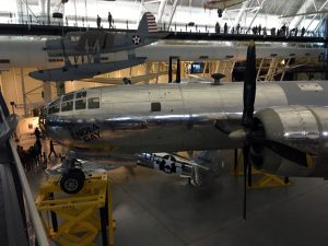 There are truly historic aircraft on display throughout the facility.