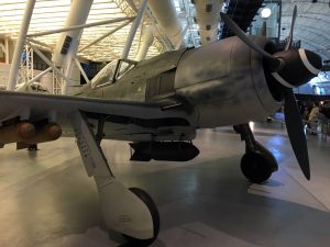 Foreign aircraft, such as this Focke Wolf 190, are well represented throughout the museum.