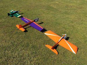 Steve's new squadron for the 2016 flight season