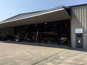 The Aircraft Restoration Workshop hanger - full of planes!