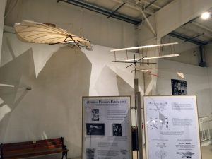Displays of pre-Wright brothers aircraft