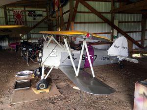 Smith Miniplane done up as an F4B-4 Biplane