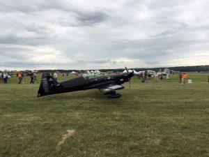 Rob Holland and his MXS-RH aerobatic plane