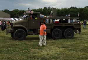 Vintage WWI truck