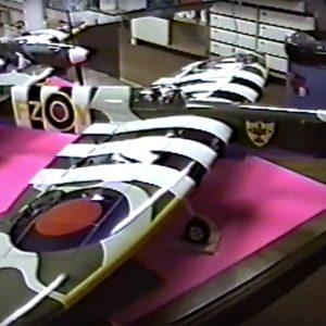 Windy Urtnowski's award winning (Control Line Stunter) I-Beam Spitfire