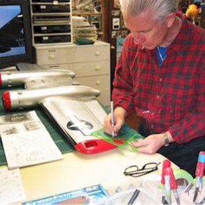 Windy Urtnowski at work in his shop
